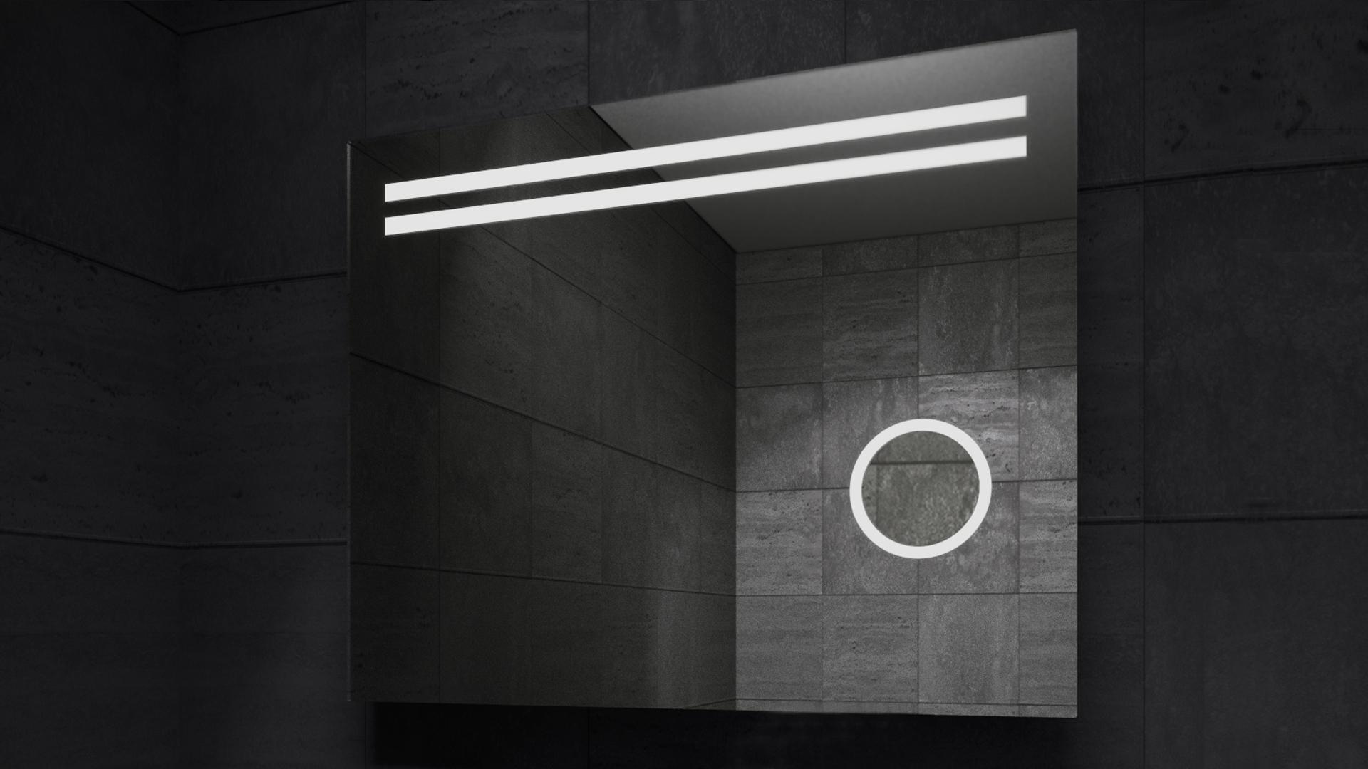 Della LED Mirror in Darkness